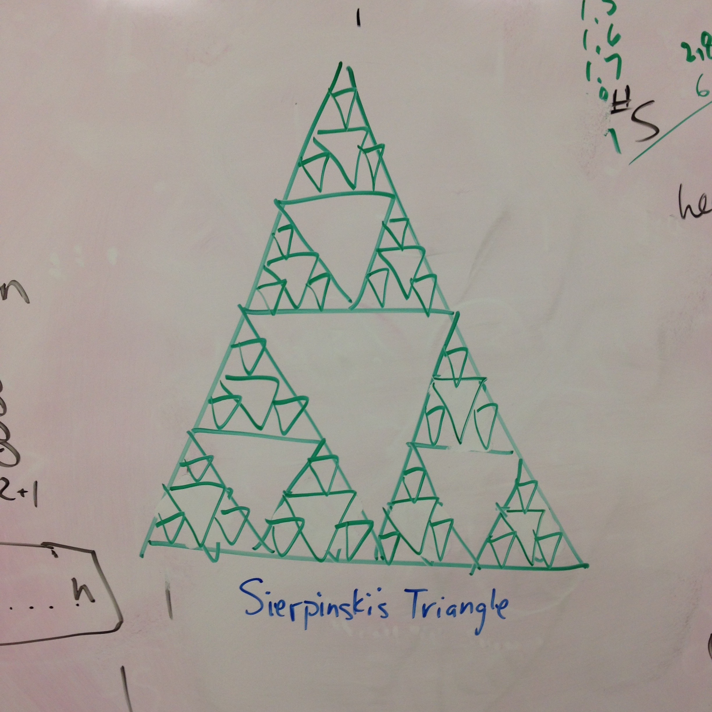 nyc community of adult math instuctors licensed for non – Sierpinski Triangle Worksheet